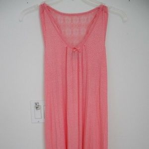 NEW WOMENS PEACH SOFT LITEWEIGHT PJ GOWN SM/MED